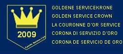 Goldenen Servicekrone