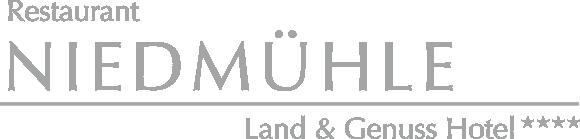 Restaurant Niedmühle – Land und Genuss Hotel Sticky Logo Retina